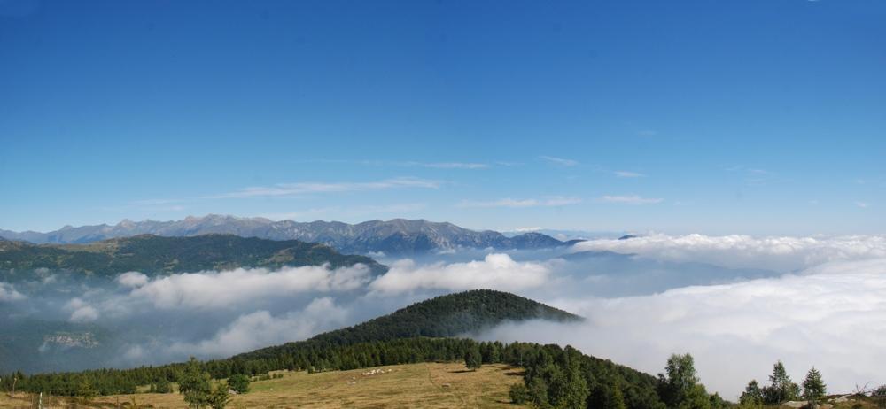 Il Monte Buffa e la bassa Val Chisone