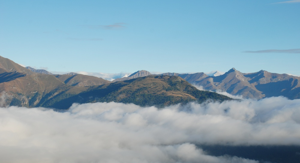 Nebbia in Val Germanasca