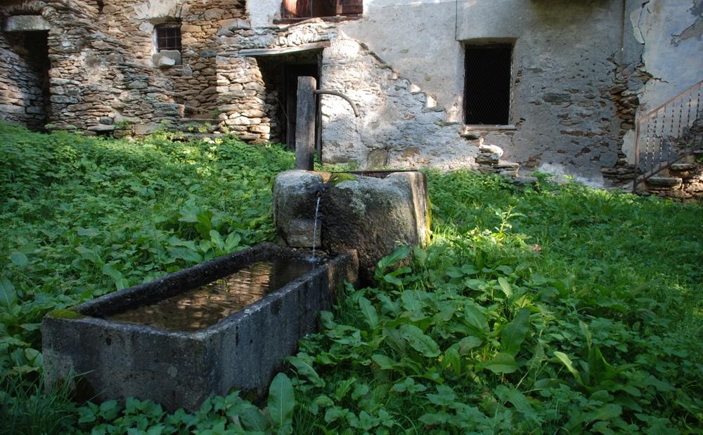 La Cleo di mezzo - La fontana