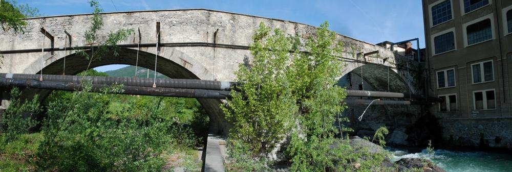 Il ponte di Perosa Argentina - maggio