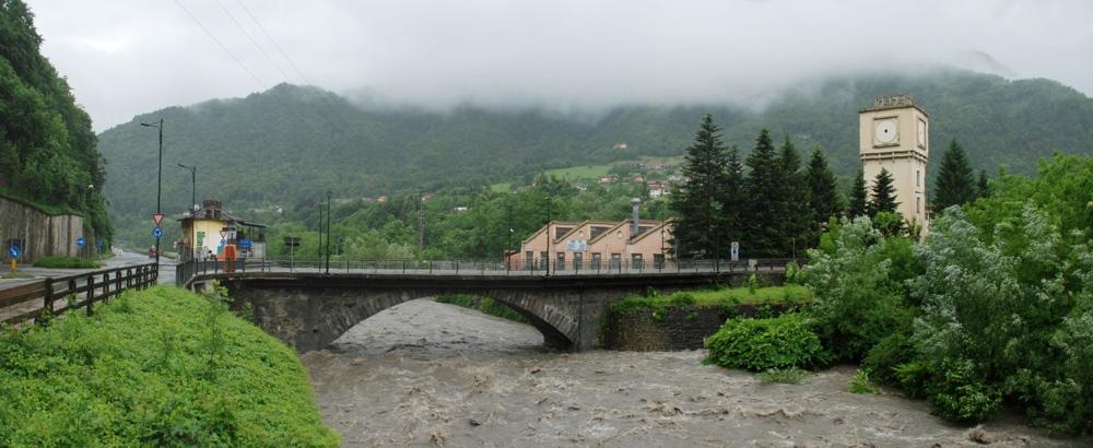 Chisun al ponte di San Germano Chisone - 11.00/14giu15