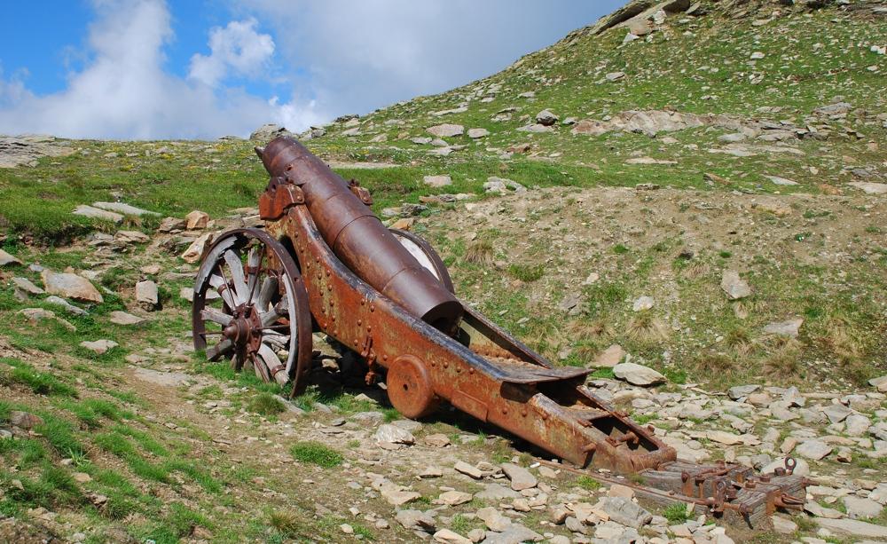Il Lago Rametta, o dei Cannoni