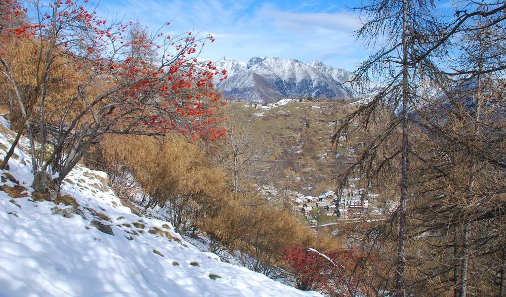 Pissere sulla neve a Chasteiran