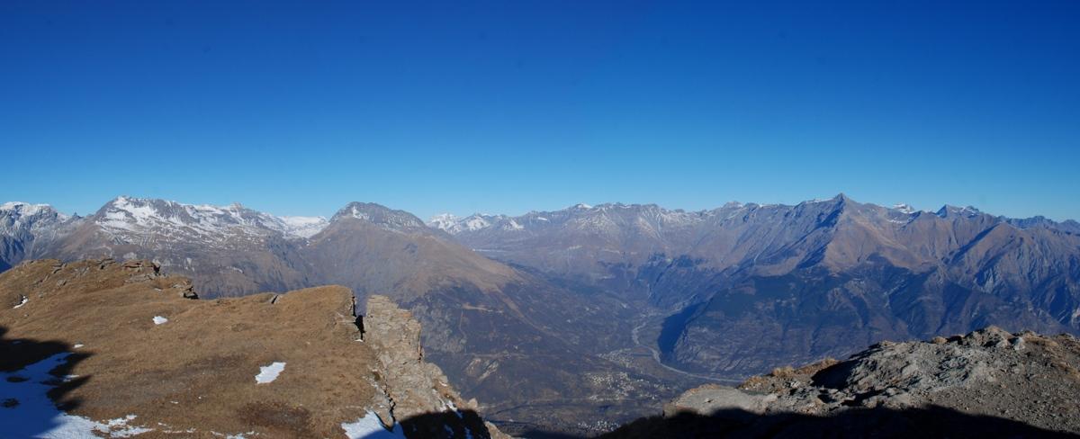 Alta Val di Susa da Punta del Mezzodì
