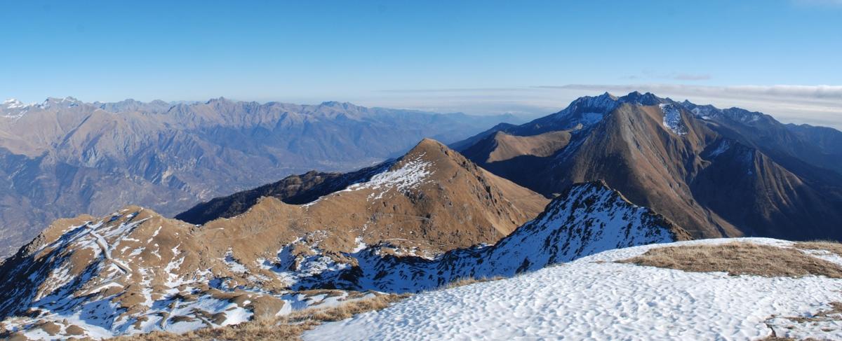 Monte Pelvo e bassa Val di Susa