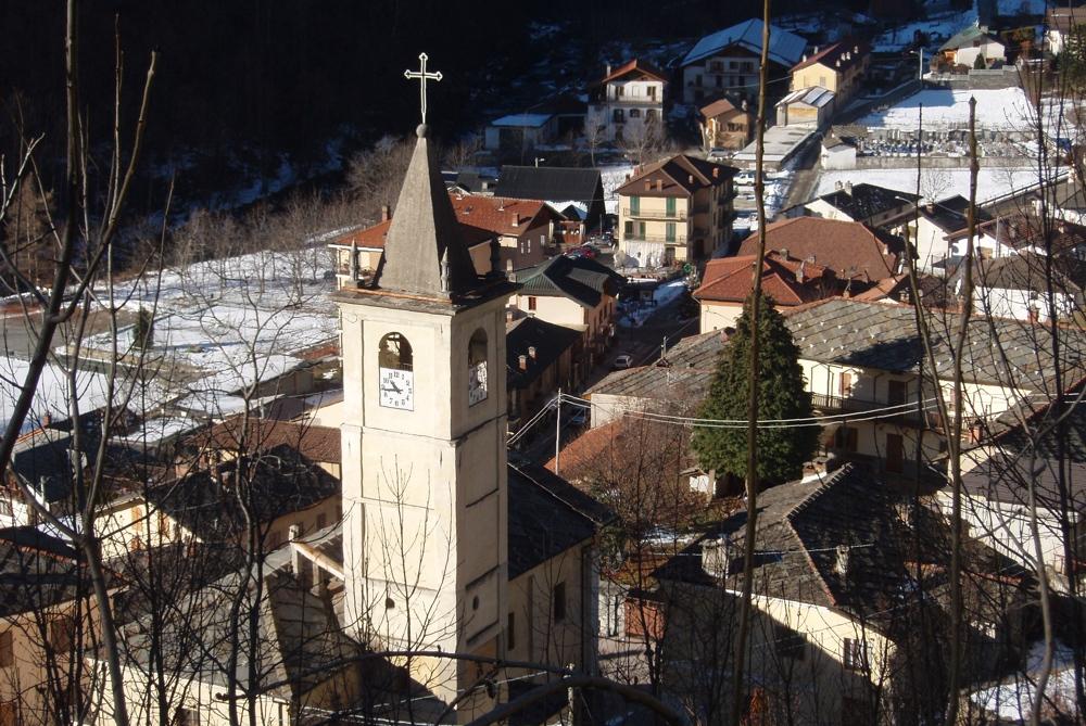 La chiesa di Perrero