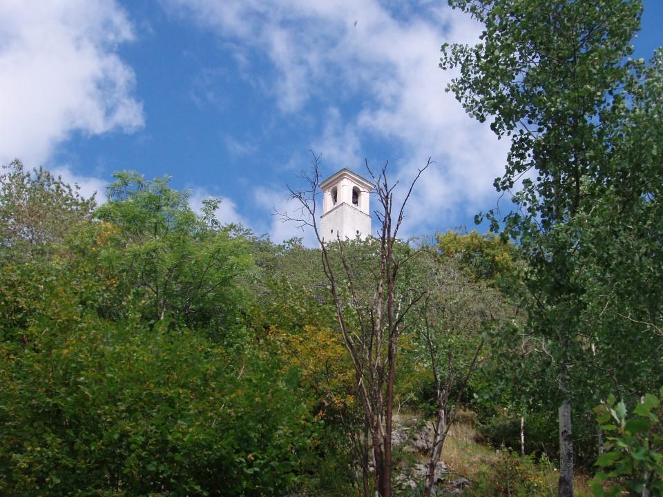 Il campanile di Chasteiran