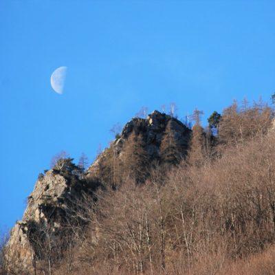 Luna e rocce
